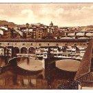 "Vintage Postcard of ""Ponte Vecchio"", Florence, Italy - 1940's"