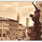 """Vintage Postcard of """"Piazza della Signoria"""", Florence, Italy - 1940's"""