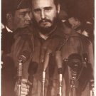 Real Photo of Fidel Castro when he arrived at MATS Terminal, Washington, D.C. in 1959