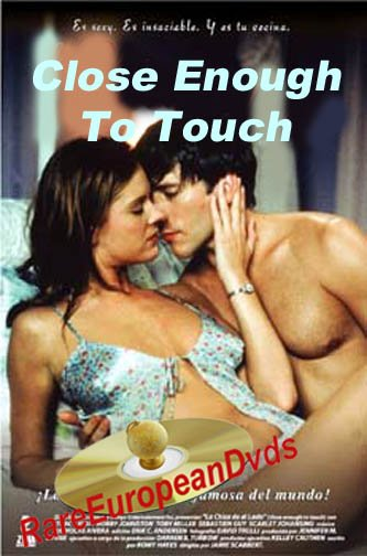 Close Enough To Touch DVD Unrated Uncut Tracy Ryan