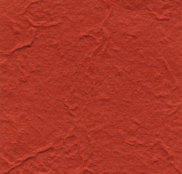 Red Heavy Mulberry Paper 10 Sheet Pack