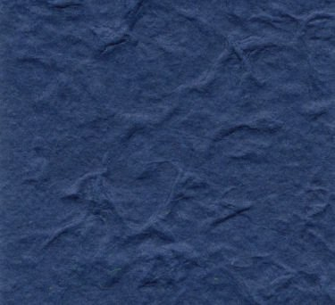 Dark Blue Heavy Weight Mulberry Paper 10 Sheet Pack