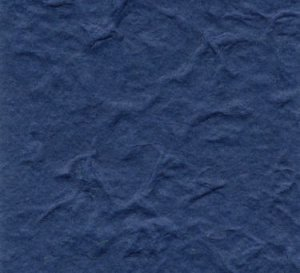 Dark Blue Heavy Weight Mulberry Paper 10 Sheet Pack