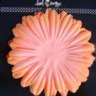 12 Orange Heidi Swapp Large Flower Blossom Cards