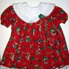Christmas Santa Bears Dress 2T
