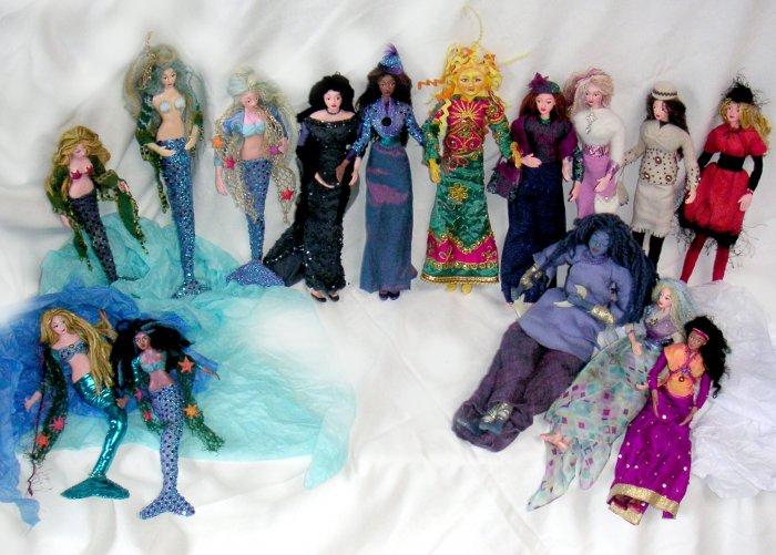 Freehand dolls