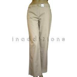 inadditions : New LIZ CLAIBORNE Flat Front Contour Waist Audra Short Length Pants Women's 4 S