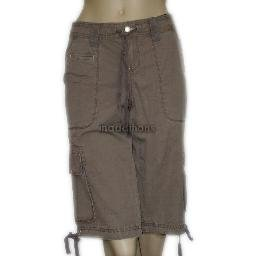 inadditions : New UNIONBAY Brownie Cargo Shorts Capris Cropped Capri Pants Juniors Size 5