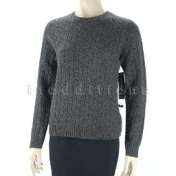 inadditions : New RALPH LAUREN Merino Wool and Angora Cable Knit Sweater Women's Petite Medium