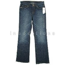 inadditions : New DKNY JEANS Soho Boot Cut Whiskered Dark Wash Stretch Denim Jean Women's 6