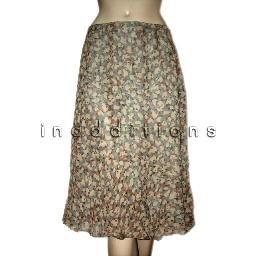 inadditions : New CHARTER CLUB Dress Smart Silk Flounced Hem Lined Skirt Women's 10 Medium