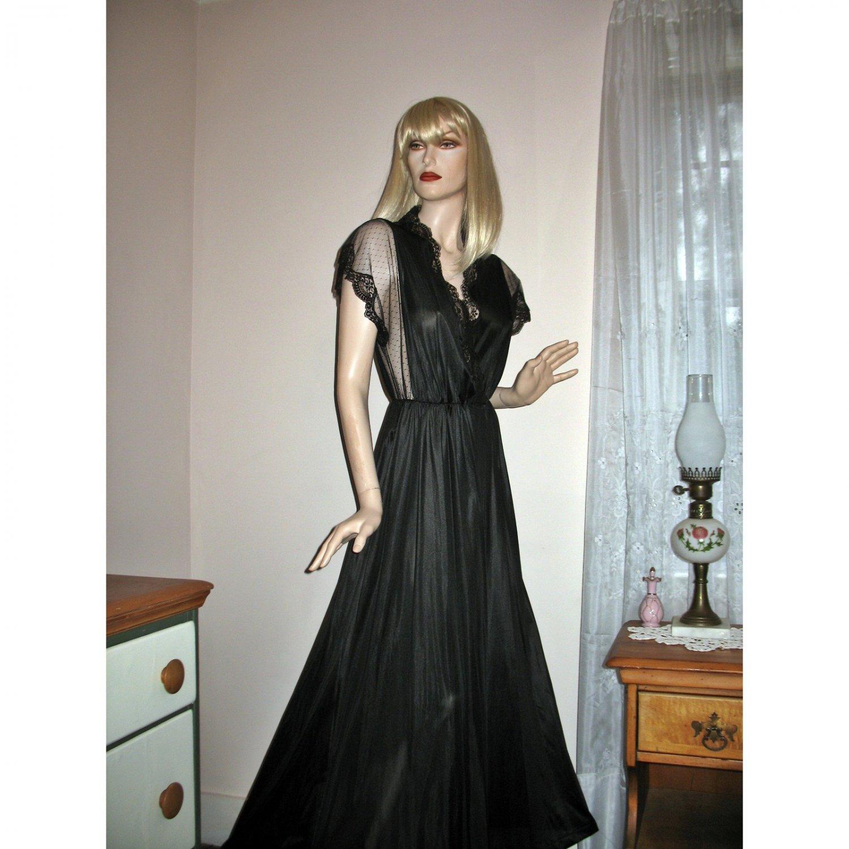 Vintage Diane Von Furstenberg Vintage Peignoir Dressing Gown SHEER ...