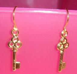 Mysterious Key Earrings