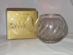 Colony Glass Flame Edition Handmade Rose Bowl