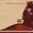 Production Scenes Walt Disney Productions King of the Grizzlies