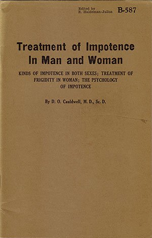 Treatment of Impotence in Man and Woman