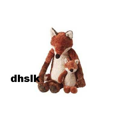 IKEA Klappar Rav FOX Mom ( Dad  ) + BABY Soft Plush Toy