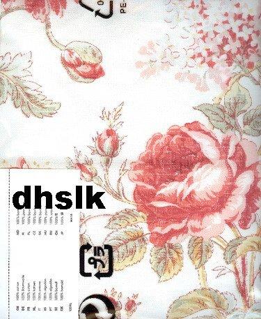 "IKEA HENRIKSDAL Chair SLIPCOVER 20"" Cover BYVIK MULTI Floral Shabby Chic"