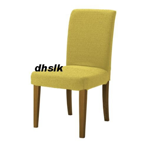 HTF IKEA HENRIKSDAL Chair SLIPCOVER Cover MYRBY YELLOW Discontinued