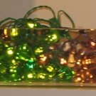 IKEA GLÄNSA DIAMANT Glansa 48 Diamonds LIGHTS Green LED Xmas