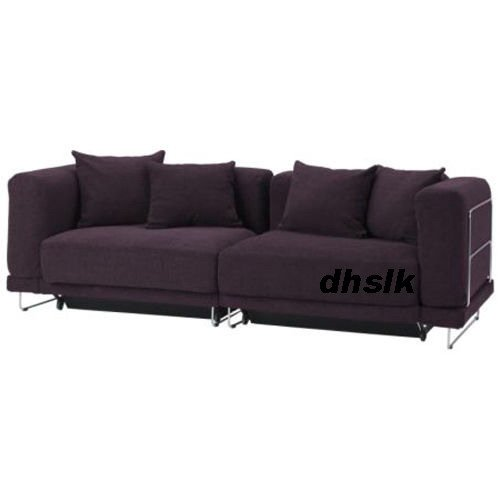 Ikea tylosand sofa bed cover rephult purple tyl sand slipcover for Ikea sofa slipcovers discontinued