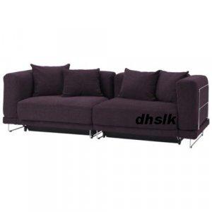 IKEA TYLOSAND Sofa Bed COVER REPHULT PURPLE TYLÖSAND Slipcover