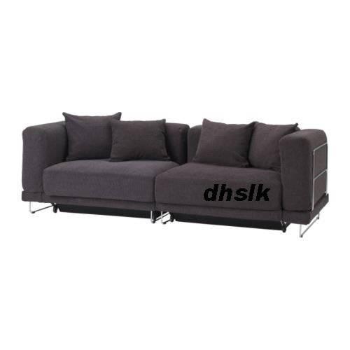 IKEA TYLOSAND Sofa Bed COVER REPHULT DARK BROWN TYL�SAND Slipcover Sofabed Xmas