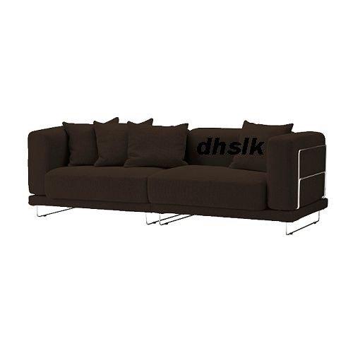 IKEA TYLOSAND Sofa COVER REPHULT DARK BROWN TYL�SAND Slipcover