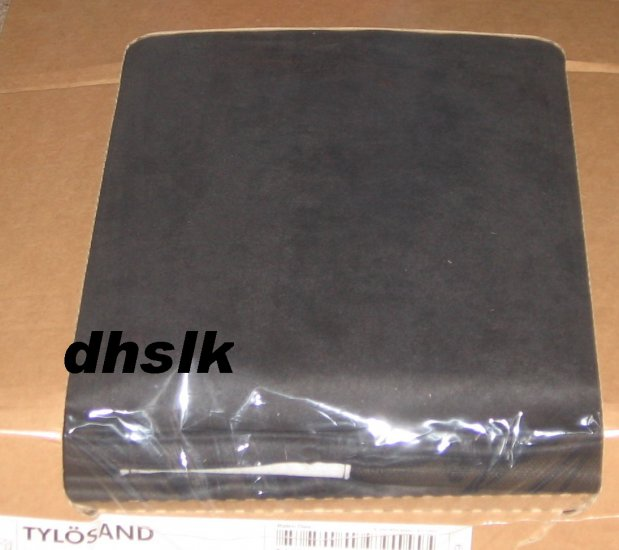 IKEA TYLOSAND Sofa COVER KUNGSVIK BLACK TYL�SAND Microfibre Slipcover