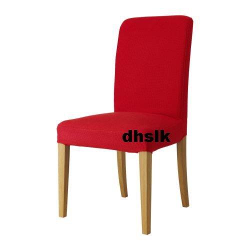 "New IKEA HENRIKSDAL Chair SLIPCOVER 20"" Cover KORNDAL RED"