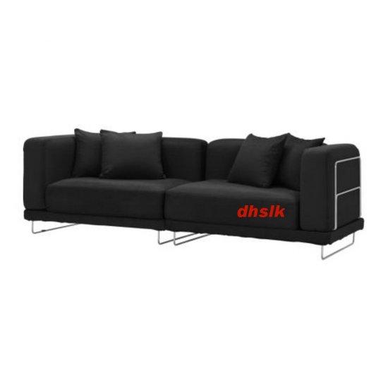 IKEA TYLOSAND Sofa COVER Everod BLACK TYL�SAND Slipcover EVER�D