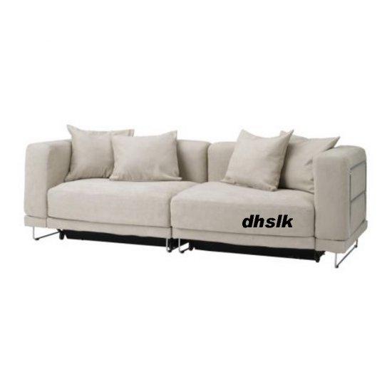 IKEA TYLOSAND Sofa Bed COVER KUNGSVIK SAND TYL�SAND Microfibre Slipcover