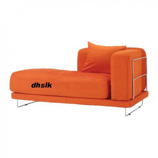 IKEA TYLOSAND Left Hand Chaise COVER Everod ORANGE TYL�SAND Slipcover EVER�D