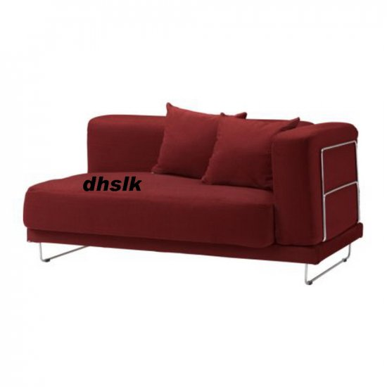 IKEA TYLOSAND 2 Seat Sofa COVER Everod REDBROWN Red Brown TYL�SAND Loveseat Slipcover EVER�D