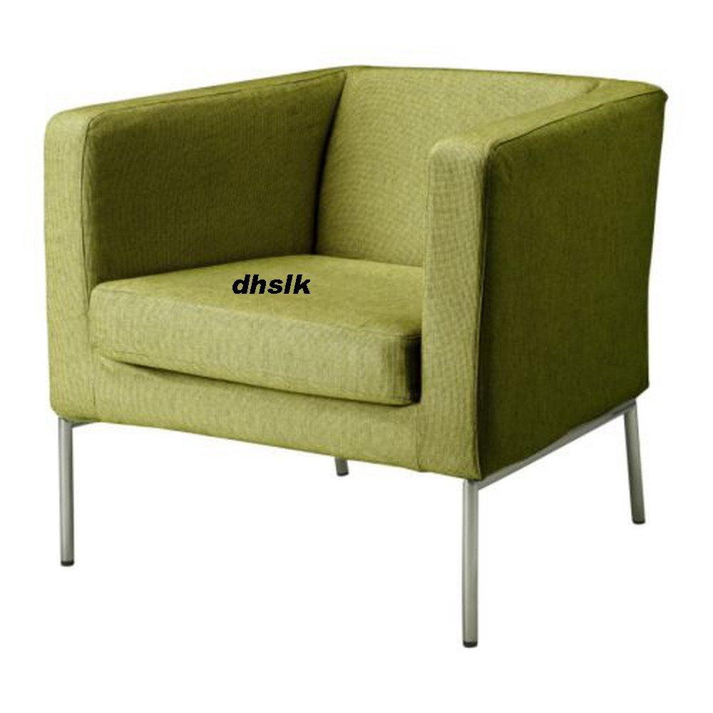 Ikea Klappsta Chair Slipcover Cover Sanne Green Modern