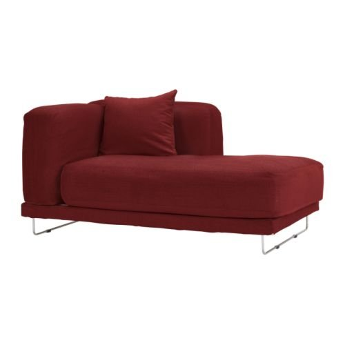 IKEA TYLOSAND Right Hand Chaise COVER Everod REDBROWN TYL�SAND Slipcover EVER�D