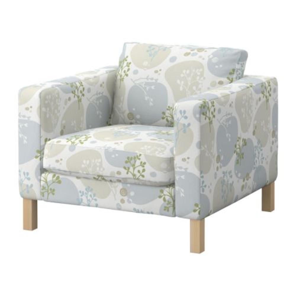 Ikea Karlstad Armchair Chair Slipcover Cover Gronvik