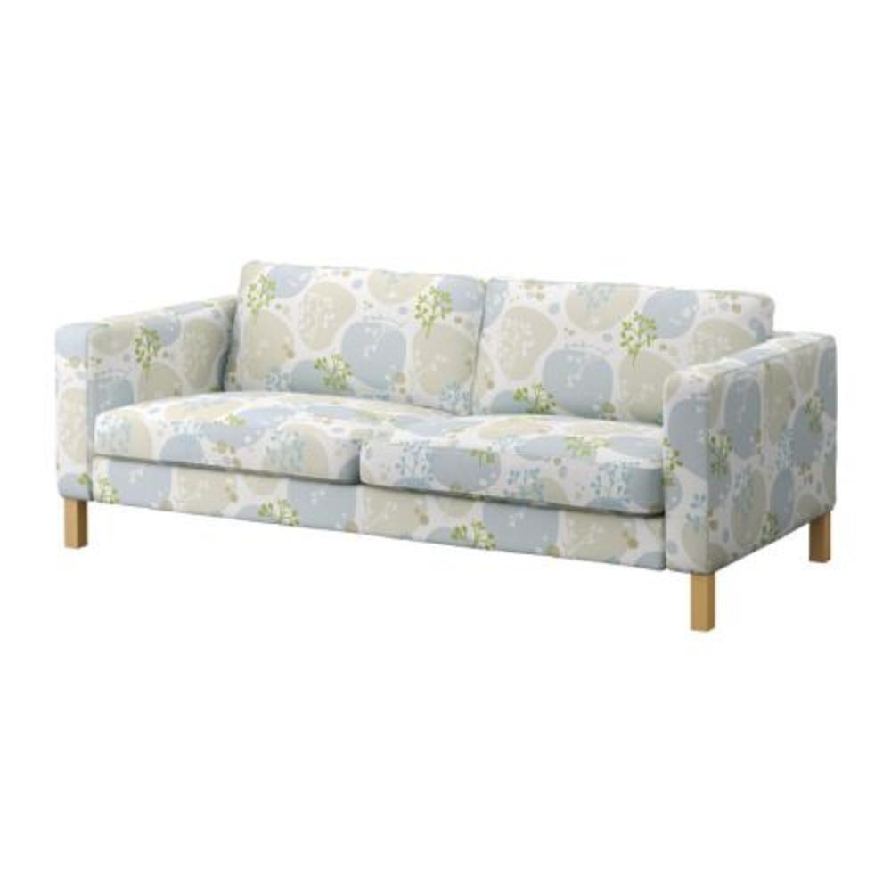 Ikea karlstad 3 seat sofa slipcover cover gronvik gr nvik multi Ikea karlstad sofa