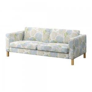 Ikea KARLSTAD 3 Seat Sofa SLIPCOVER Cover GRONVIK Grönvik Multi