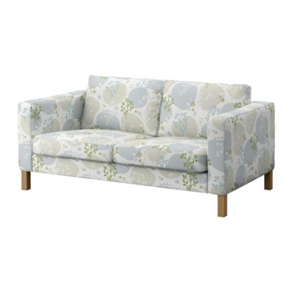 Ikea KARLSTAD 2 Seat Loveseat Sofa SLIPCOVER Cover GRONVIK Grönvik Multi