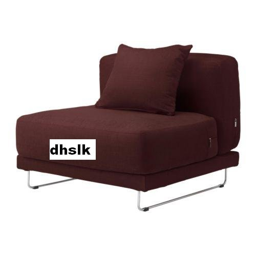 IKEA TYLOSAND 1 SEAT Chair COVER Everod DARK RED TYL�SAND Slipcover EVER�D