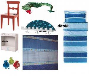 Ikea Minnen Bard Prince Knight Wizard Bedroom Twin Duvet