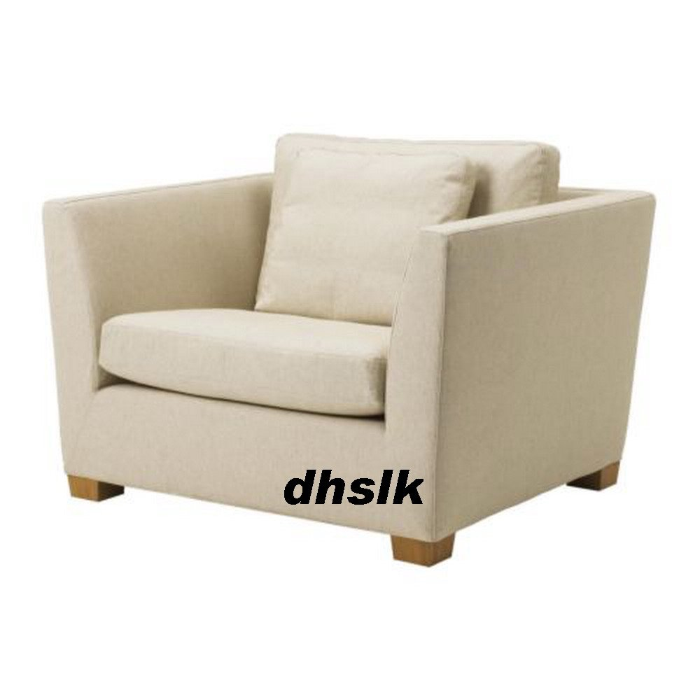 Ikea stockholm armchair slipcover chair cover gammelbo for Housse futon ikea