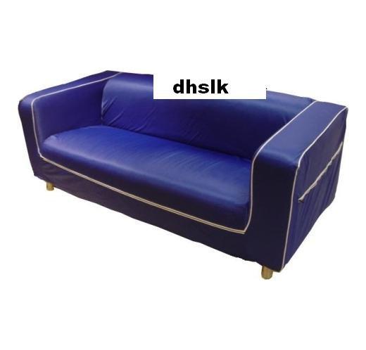 Ikea Klippan Sofa Slipcover Loveseat Cover Stolpen Blue