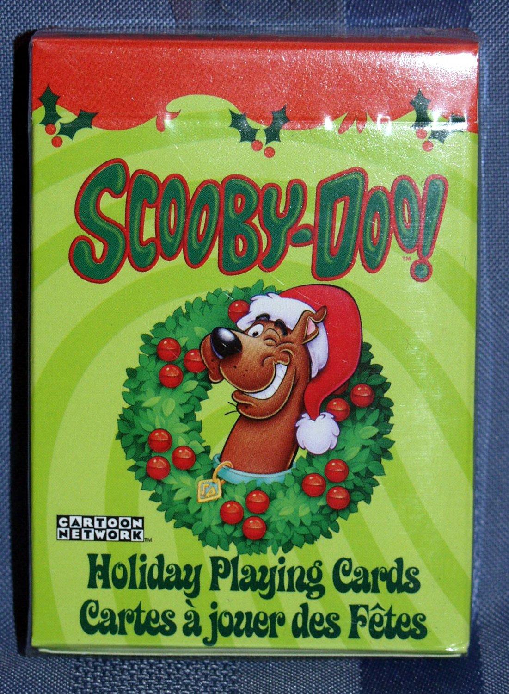 Cartoon Holiday Scooby Doo Playing Cards Xmas Dog Santa