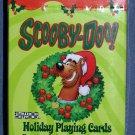 Cartoon HOLIDAY SCOOBY DOO Playing Cards XMAS DOG Santa Christmas