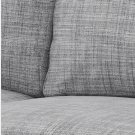 IKEA Karlstad 2 Seat Sofa SLIPCOVER Loveseat Cover ISUNDA GRAY Grey