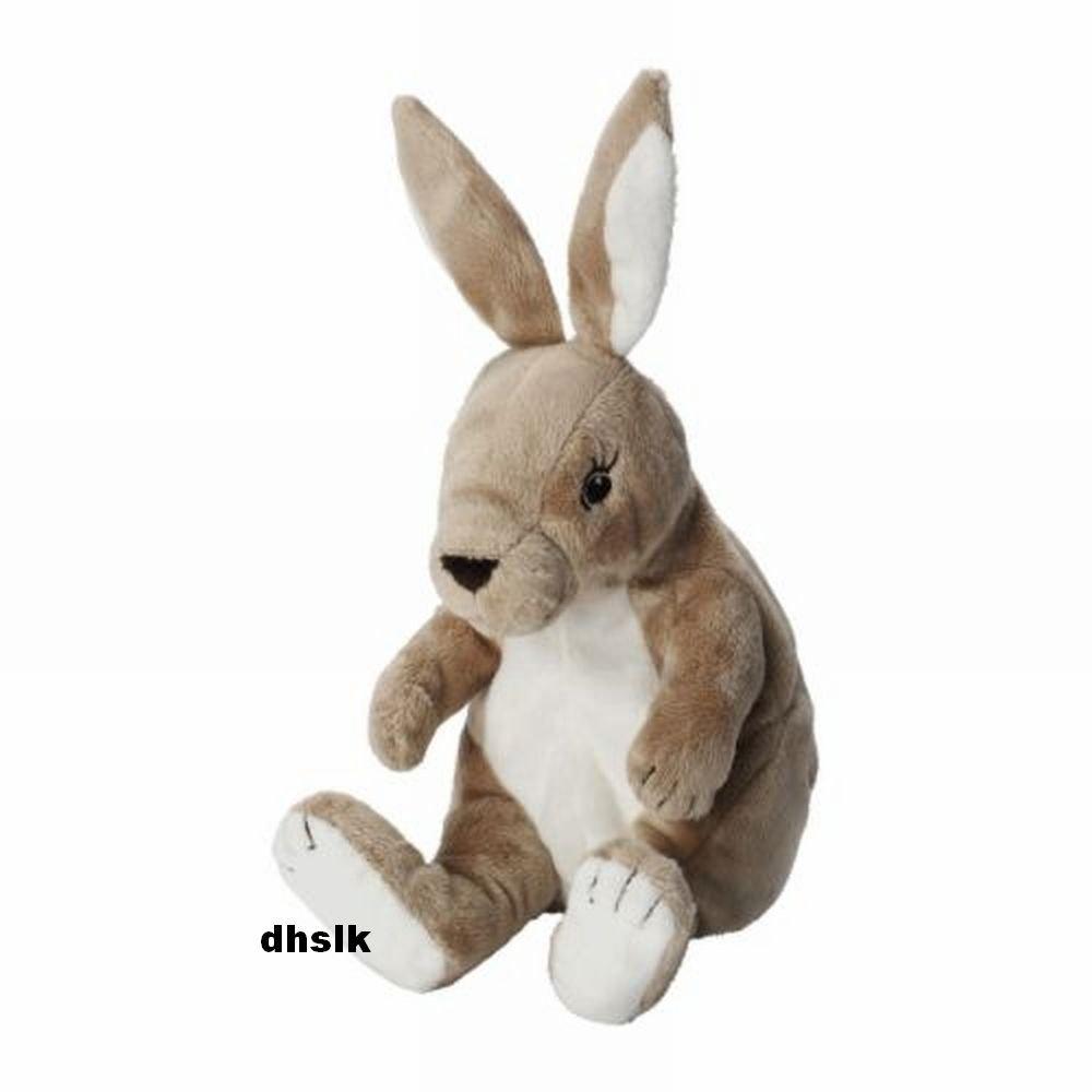 IKEA GOSIG Kanin BUNNY RABBIT Soft Plush Toy BABY Safe Beige