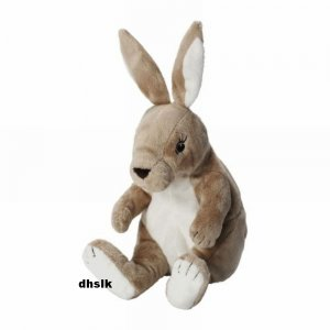 IKEA GOSIG Kanin BUNNY RABBIT Soft Plush Toy BABY Safe Beige