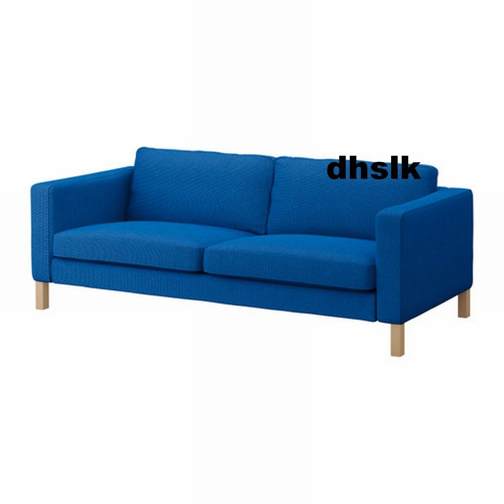 Cover For Karlstad Sofa: Ikea KARLSTAD Sofa SLIPCOVER Cover KORNDAL MEDIUM BLUE